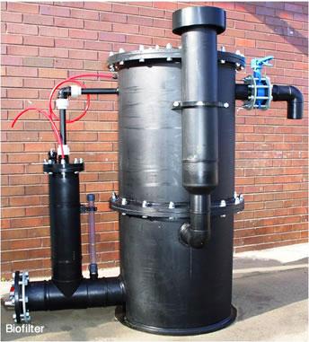 gas lfaring bio filtration